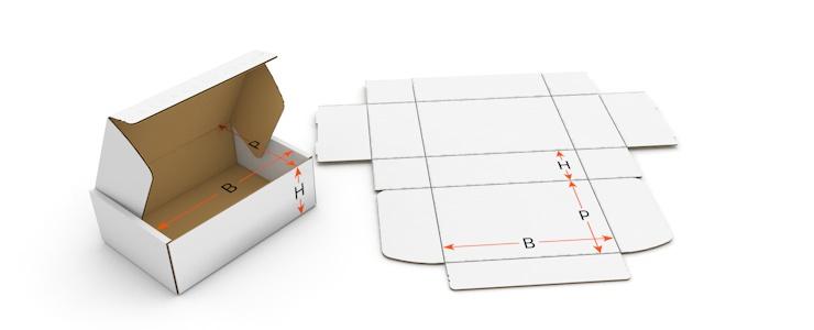 500 Grandi Scatola Lettera 230 x 160 x 20 mm lettera Scatola Posta Spedizione Merci Marrone